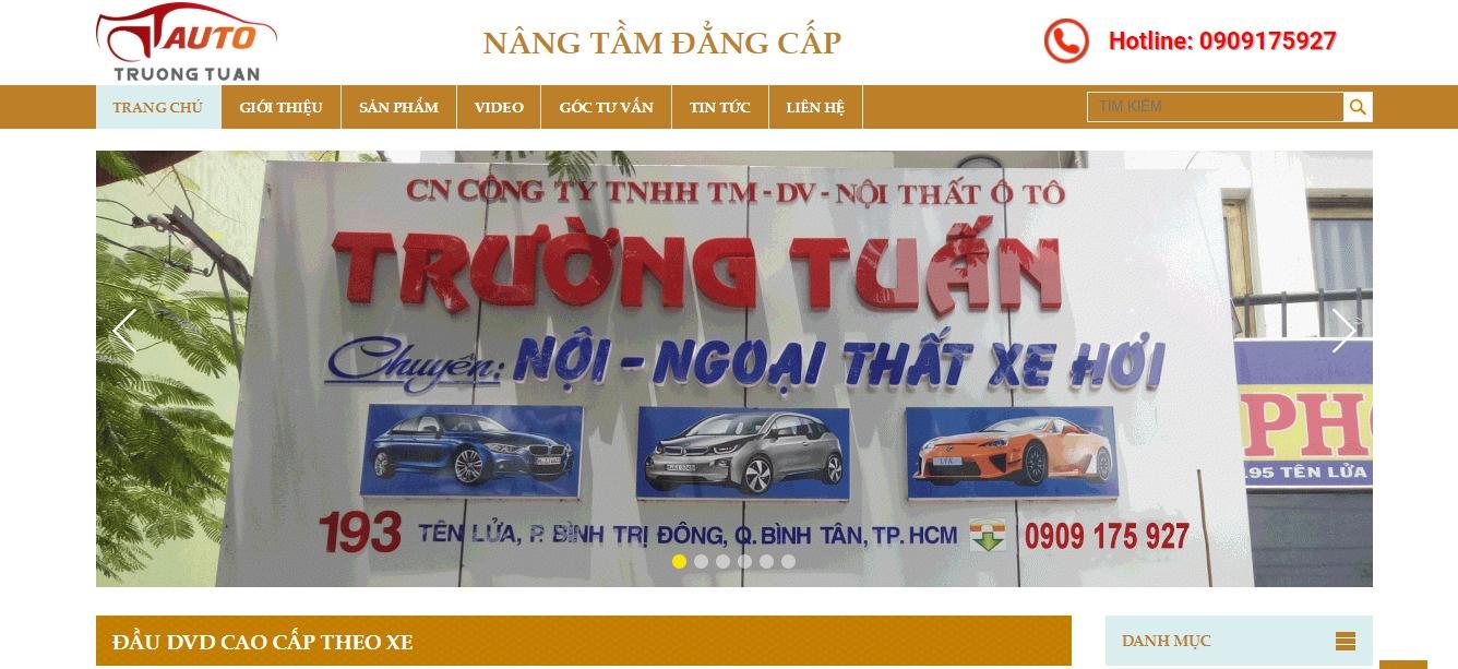 Trường Tuấn cung cấp dịch vụ ô tô, đồ chơi ô tô