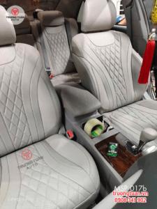 Bộ áo ghế ô tô 10D trám cao cấp màu xám 17