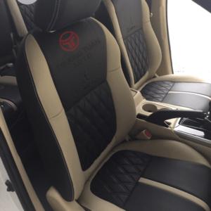 Bộ áo ghế ô tô 18 màu đen thời thượng