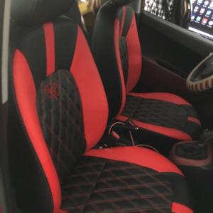 Bộ áo ghế ô tô 19 màu đen đỏ kết hợp sang trọng, đẳng cấp