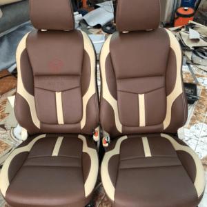 Bộ áo ghế ô tô Xpander màu nâu phối màu 130